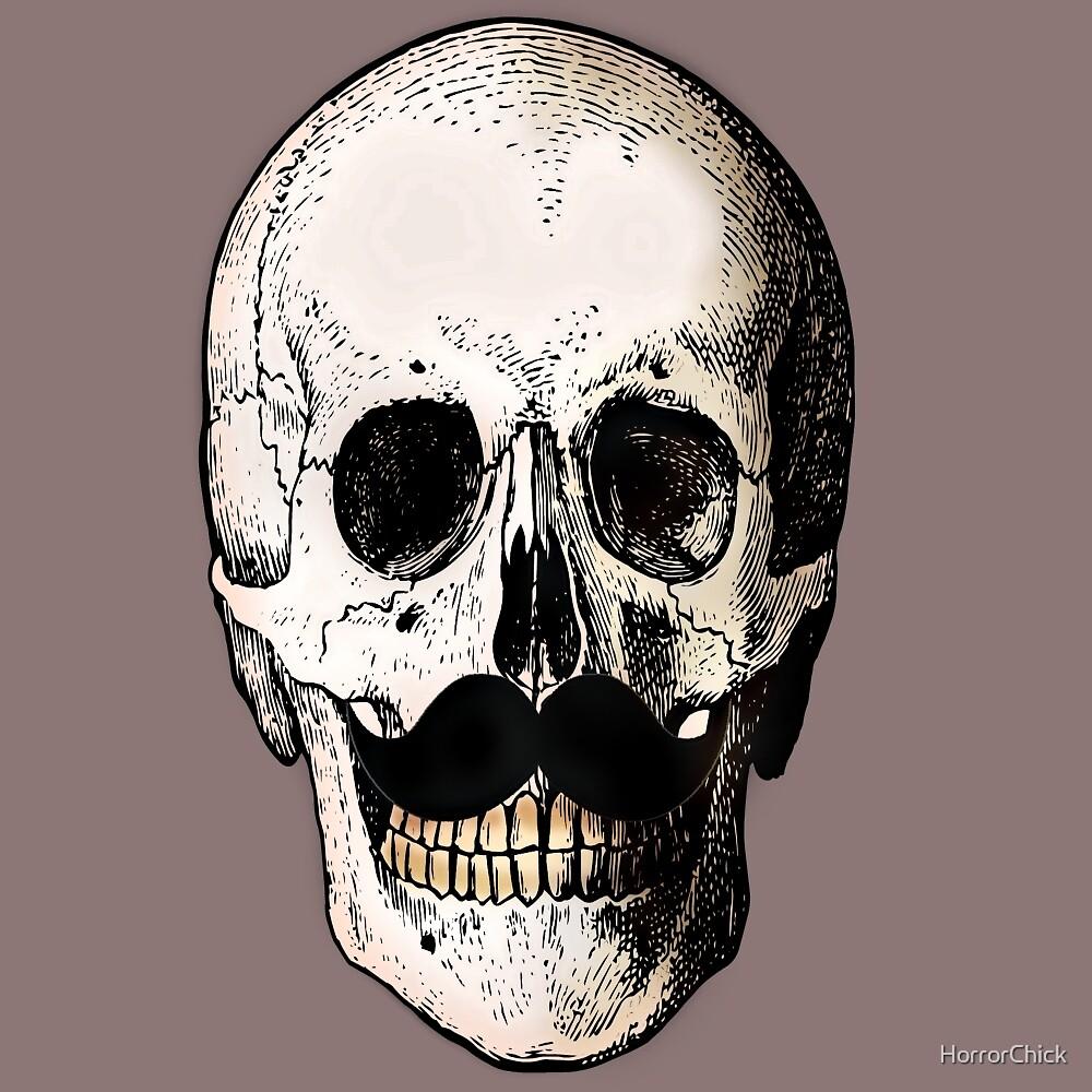 Skullstache by HorrorChick