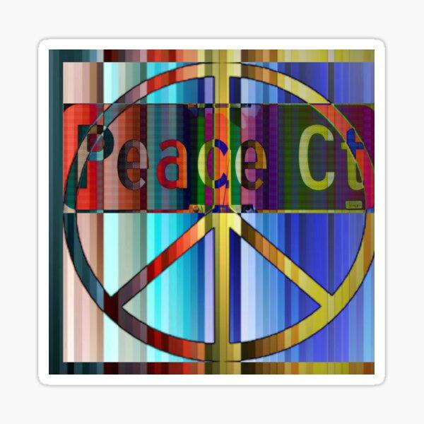 Peace Court Sticker