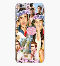 Dave Franco and Zac Efron Collage Edit iPhone Case