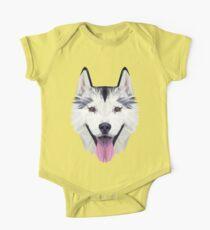 Husky low poly Kids Clothes
