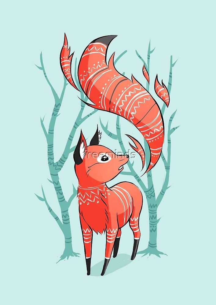 Winter Fox by freeminds