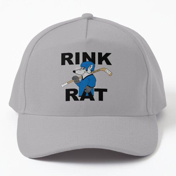 Rink Rat Hockey Baseball Cap