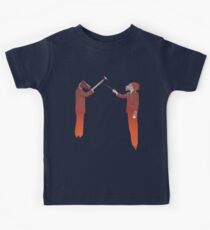 Horse Man and Lion Log Kids Clothes