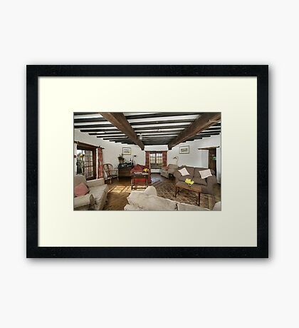 Cley Windmill's Round Rooms Framed Print