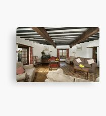 Cley Windmill's Round Rooms Canvas Print