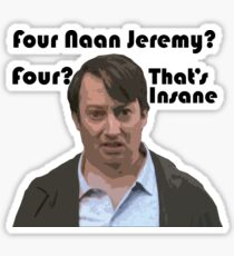 Four Naan? Sticker