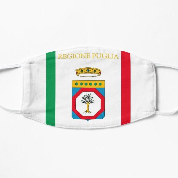 Bandiera Puglia Flag Puglia Flat Mask