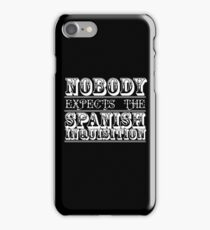 Nobody expects the spanish inquisition | Best of British Cult TV | Monty Python iPhone Case/Skin