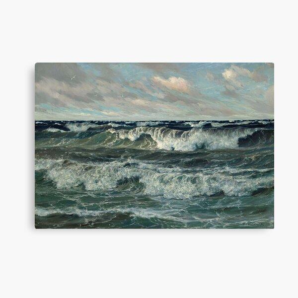 The North Sea, by Patrick von Kalckreuth Canvas Print
