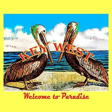 Pelican Paradise  by vintagekeywest