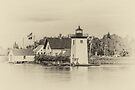 Grindle Point Light - sepia by PhotosByHealy