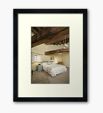 Cley Windmill's Stone Room Framed Print