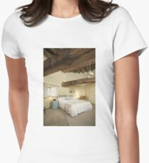Cley Windmill's Stone Room Women's Fitted T-Shirt