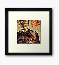 Deckard at Tyrell Corporation - Strings Framed Print