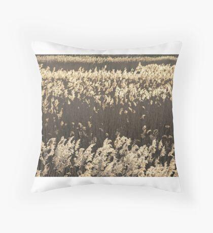 Norfolk Reeds Throw Pillow