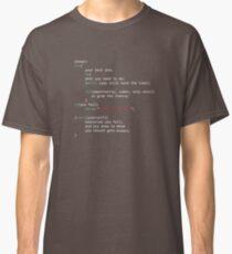Geek-Kodierer Classic T-Shirt