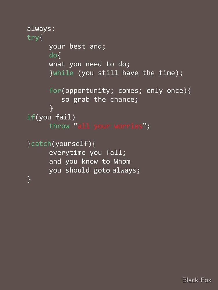 Geek Coder de Black-Fox