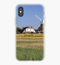 Cley Windmill Panorama iPhone Case