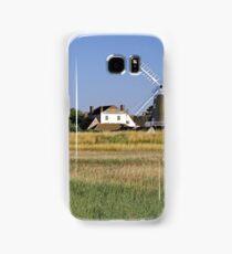 Cley Windmill Panorama Samsung Galaxy Case/Skin