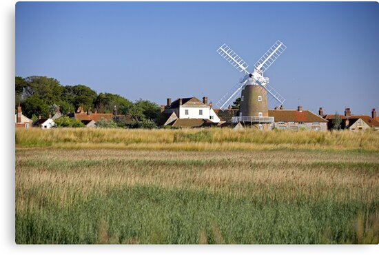 Cley Windmill Panorama by cleywindmill