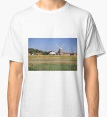 Cley Windmill Panorama Classic T-Shirt