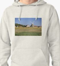 Cley Windmill Panorama Pullover Hoodie