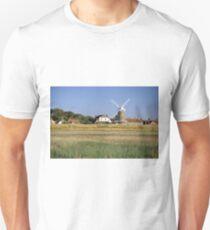 Cley Windmill Panorama Unisex T-Shirt