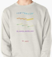 Voltron Sound Effects Typography Pullover