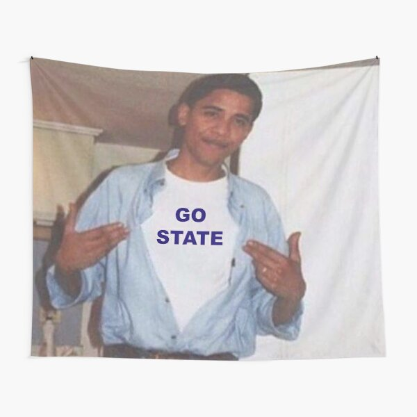 PSU Obama Tapestry