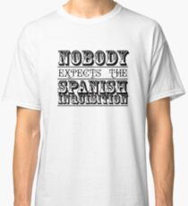Nobody expects the spanish inquisition | Best of British Cult TV | Monty Python Classic T-Shirt