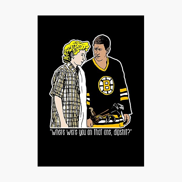 """Happy Gilmore - """"Where were you"""" Photographic Print"""