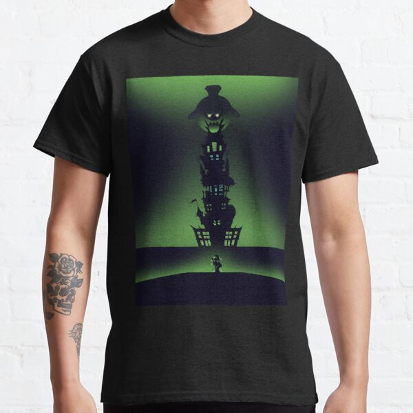Luigi's Mansion - Minimalist Travel Style - Video Game Art Classic T-Shirt