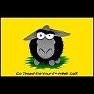 Black Sheep Gadsden Flag by Kowulz