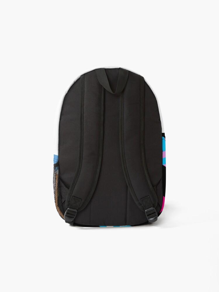 Alternate view of 80s Memphis Design Pattern Backpack