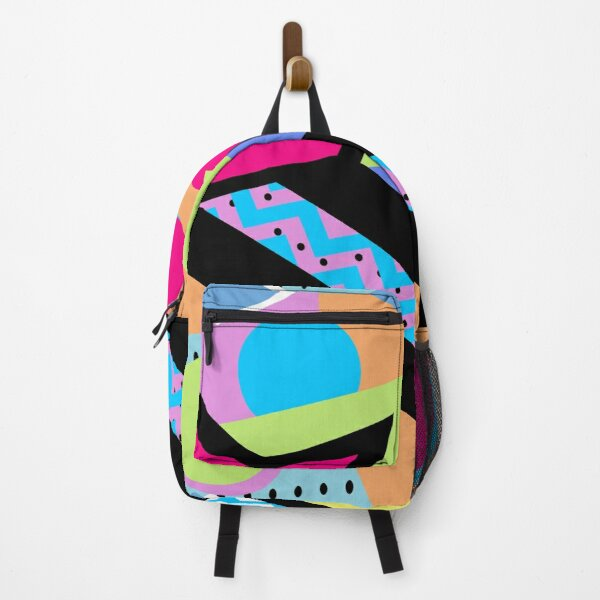 80s Memphis Design Pattern Backpack