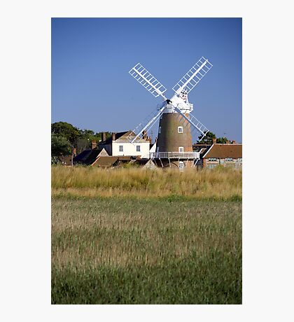 Stunning Panorama of Cley Windmill Photographic Print