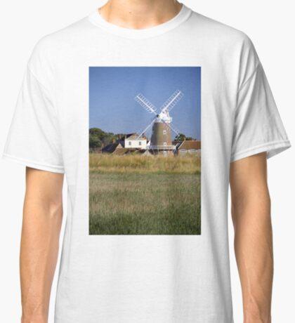 Stunning Panorama of Cley Windmill Classic T-Shirt
