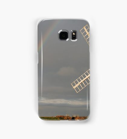 Cley Windmill and Rainbow 2010 Samsung Galaxy Case/Skin
