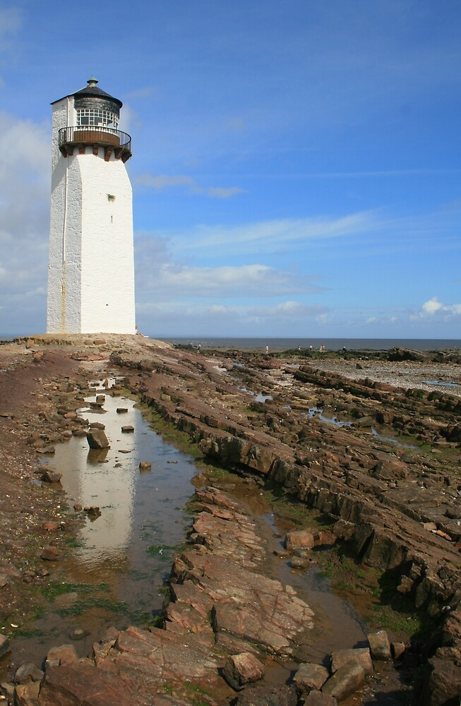 Southerness Lighthouse by RedHillDigital
