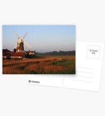 Cley Windmill at Dawn Postcards