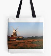 Cley Windmill at Dawn Tote Bag