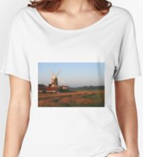 Cley Windmill at Dawn Women's Relaxed Fit T-Shirt