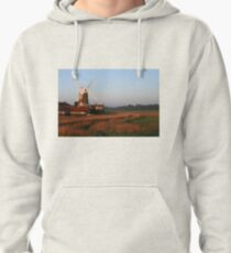 Cley Windmill at Dawn Pullover Hoodie