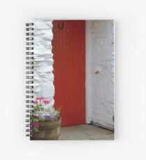 At the cottage door Spiral Notebook