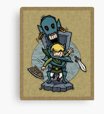 Zelda Wind Waker ReDead  Canvas Print