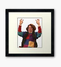 Kristen Wiig: freakin excited  Framed Print