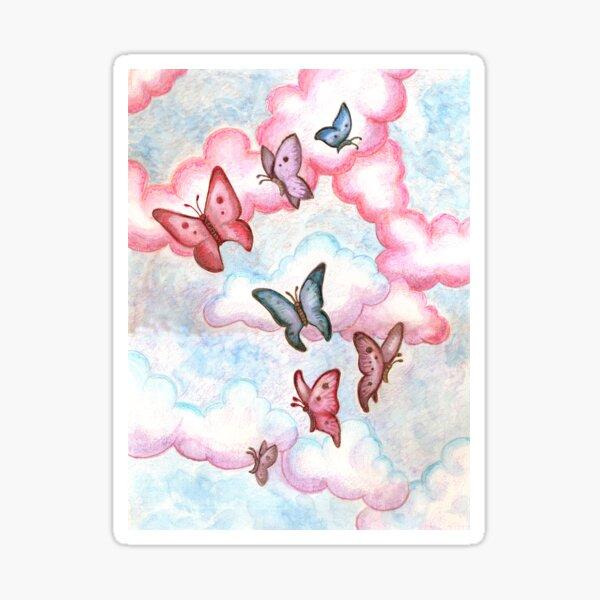 Butterfly Fantasy  Sticker