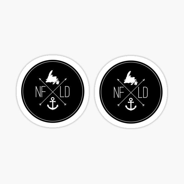 NFLD X Logo Sticker 2 Pack Sticker