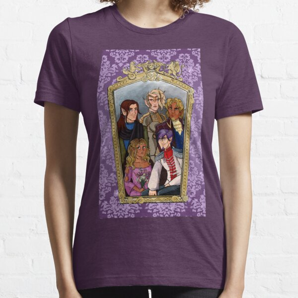 Flocked Strong-arm & Lightfoot: The Godswrath Family Essential T-Shirt
