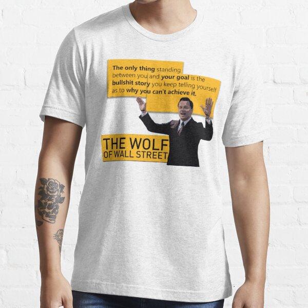 Di Caprio - Wolf of Wallstreet Essential T-Shirt